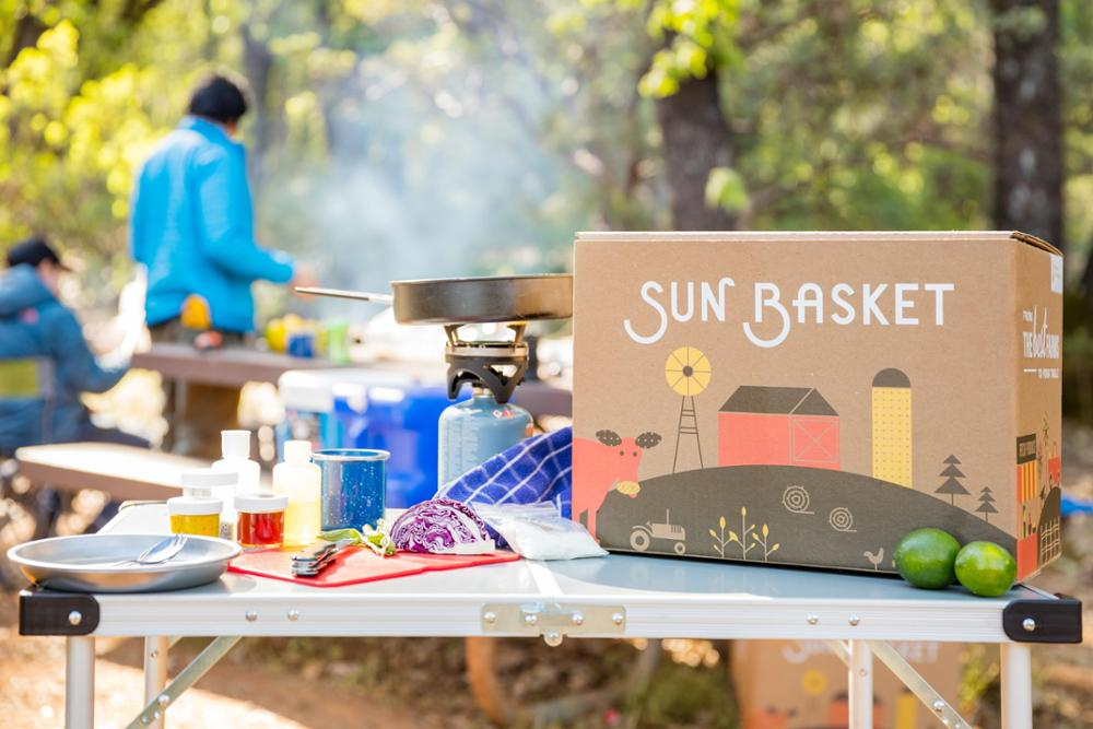 Sun Basket Goes Camping Featured Image